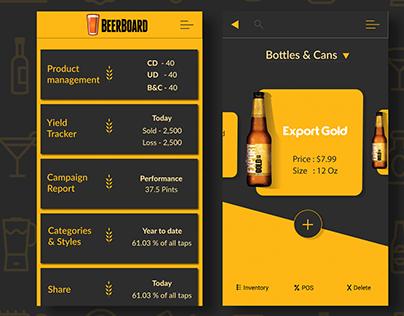 Beerboard - Bottles & Cans