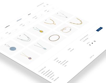 Jewellery Company Website