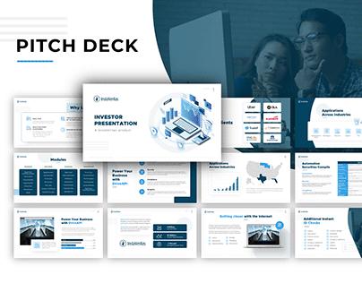 Instaveritas - Pitch Deck Design