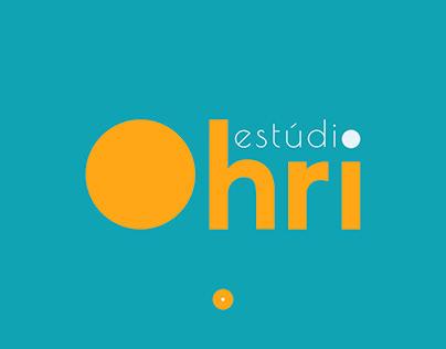 Branding Estúdio Ohri