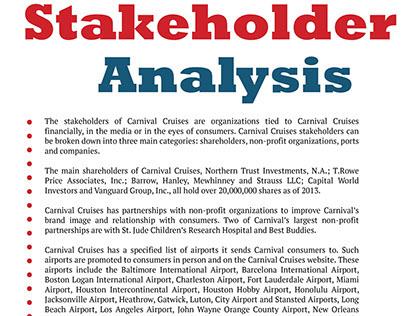 MAC: Stakeholder Analysis/Audience Analysis