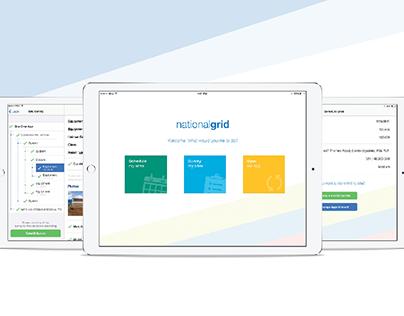 National Grid - Condition Monitoring iPad App