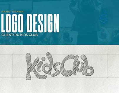 Hand-Drawn Kids Club Logo Design