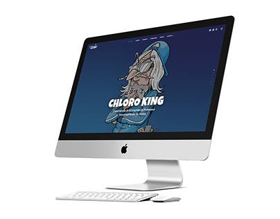 CHLORO KING | DADOU | WEBSITE WEBDESIGN