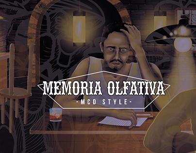 Portada para disco Memoria Olfativa - MCD STYLE