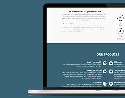 SME Website UI