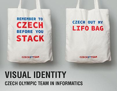 Visual Identity - Czech Olympic Team in Informatics