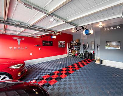 Interior Design - Tesla Garage
