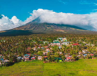 The Majestic Mayon Volcano