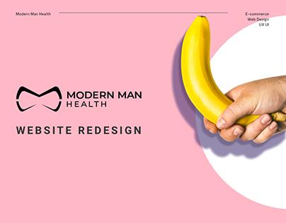 Modern Man Health - Website design