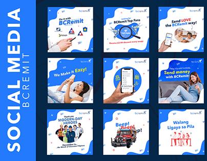 Bcremit - Social Media Portfolio