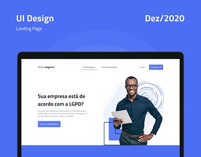 DadoSeguro - Landing Page