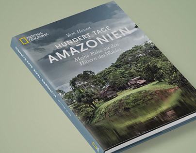 100 Tage Amazonien bookdesign