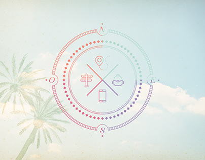 Compass Of Colors | Branding