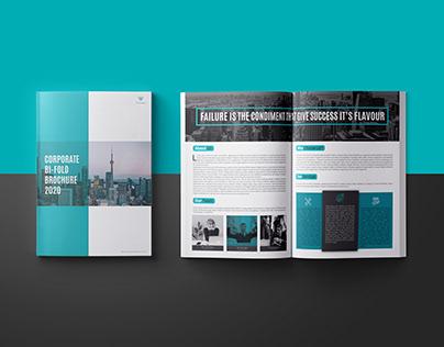 """Business Brochure -"""" CORPORATE BI-FOLD BROCHURE """""""