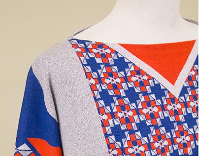 Engineered, Jaquard Knit Sweaters