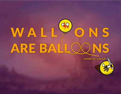 Walloons are balloons