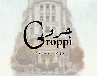 Café Groppi || Logo Redesign