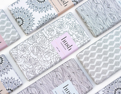 Hush Chocolate — Packaging