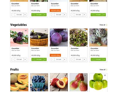 Farm to table Digital Platform