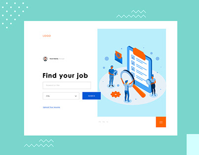 Job Pages Ui Design