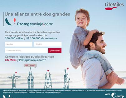 Protegetuviaje.com y LifeMiles
