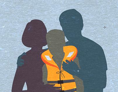 Family portrait - Poster