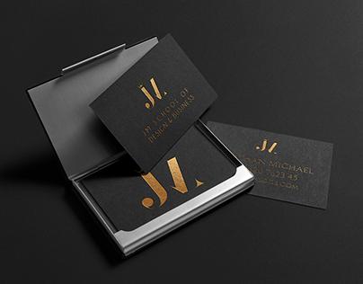 JM School Of Design & Business Rebranding