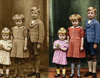 Restauração Foto Antiga