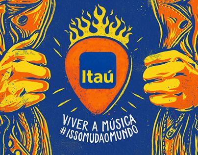 Itaú . Rock in Rio