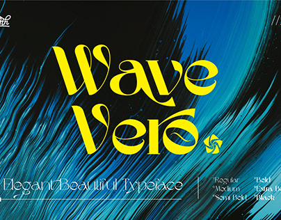 Wave Vero - Elegant Typeface