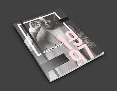 BTS JUNGKOOK PHOTOGRAPHY BOOK • PRINTED DESIGN
