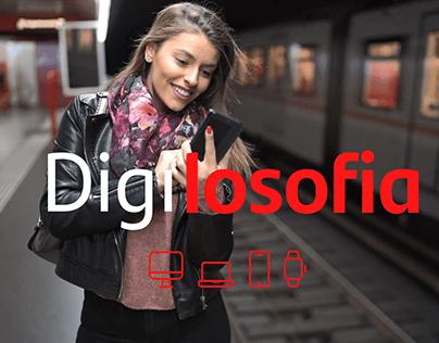 Santander / Campanha Digilosofia