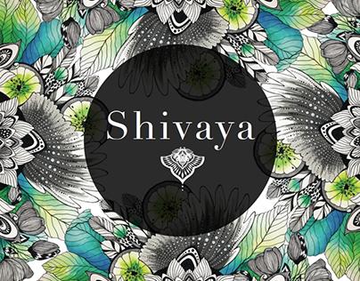 SHIVAYA Yoga Brand Identity, Illustration, Deco