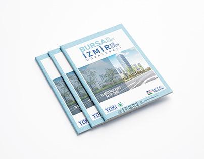 Toki - Emlak Yönetim A4 Katalog Tasarımları
