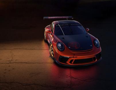 Jägermeister Porsche 911 GT3 Cup