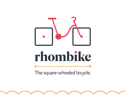 Rhombike: Square-wheeled bicycle