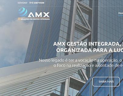 Website AMX Gestão Integrada