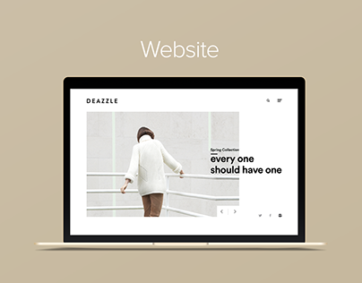 Deazzle Shoe Website