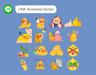 LINE Animated Sticker 動態貼圖設計