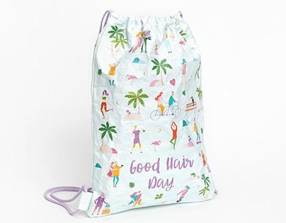 Tyvek® Drawstring Bagpacks