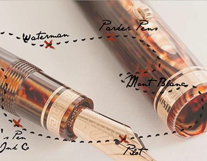 Website Design - Fountain Pens