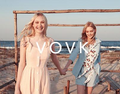 Online store of women's clothing brand VOVK