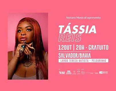 Show de Tássia Reis | Locução de Audiodescrição