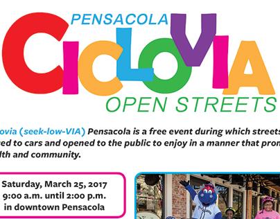 Pensacola Open Streets Ciclovia