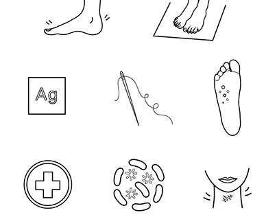 Icons for The Purebag Website