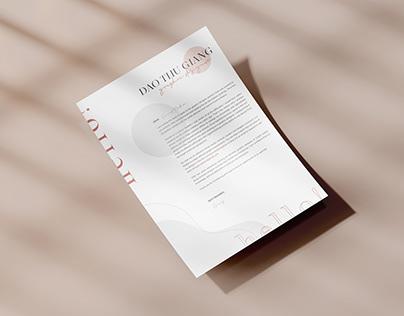 Curriculum Vitae (CV) / Cover Letter