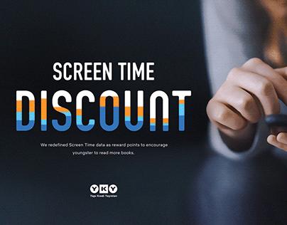 Yapi Kredi Publications - Screen Time Discount