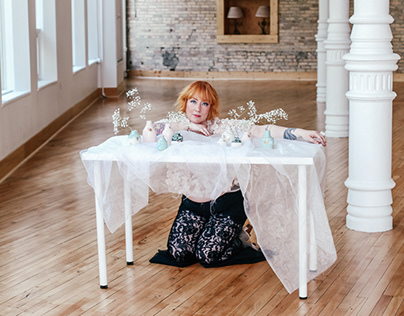 Meg Does Pottery-Makeup & Photography