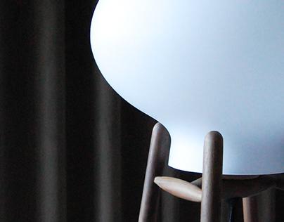 FDB furniture: HITI floor and table lamp